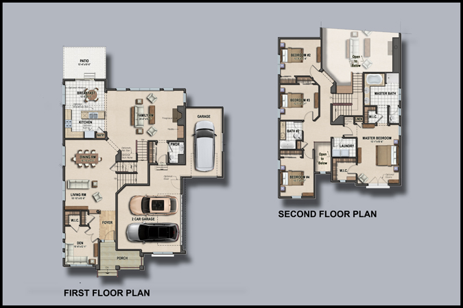 Colored House Floor Plans house floor colour ~ crowdbuild for .